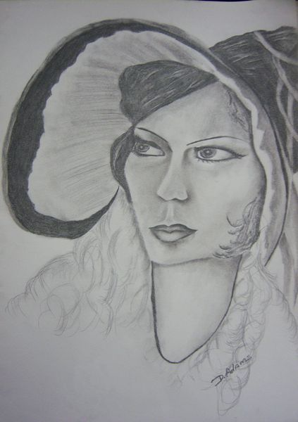 P_Vintage Woman