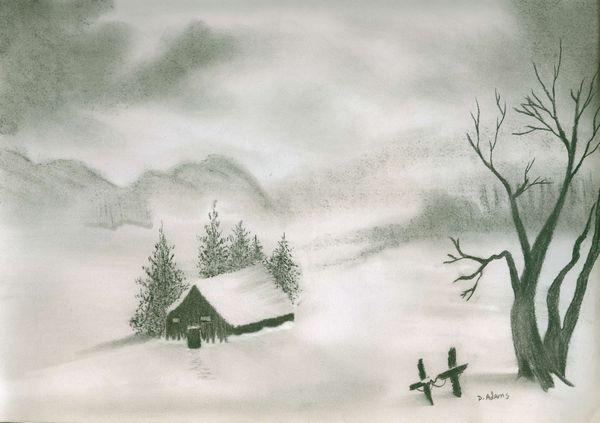 Another Frosty Winter Morn   Adamsart