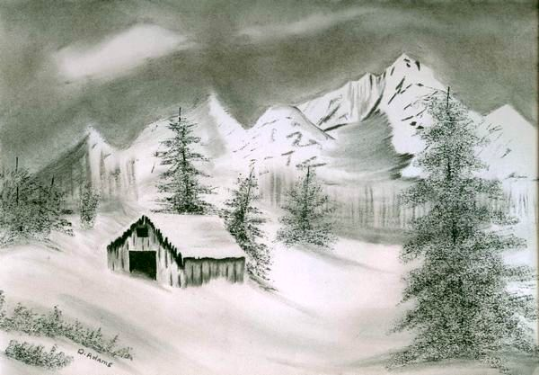 L_Wintery Foothills