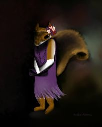 P_Violet the Squirrel Flapper_Digital painting_dja_7-7-2012
