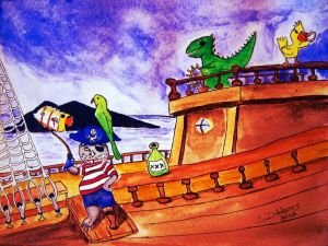 L_Captain Fraz andthe Pirates