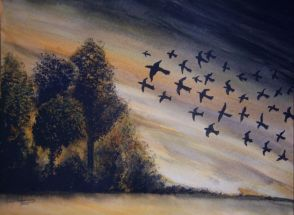 L_Birds in Flight