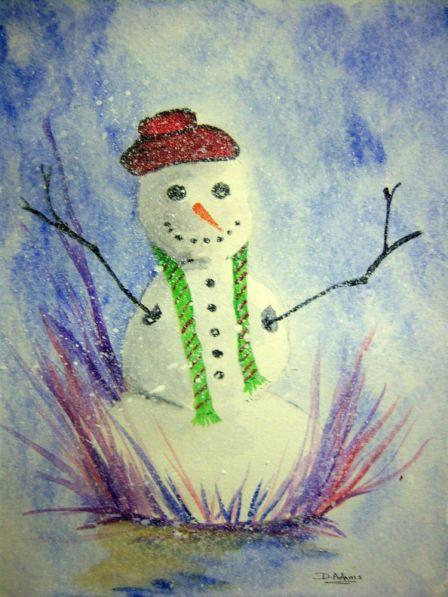 P_Christmas Snowman
