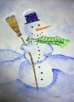 P_Christmas Snowman II
