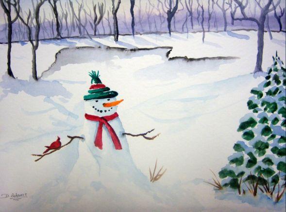 L_Friendly Snowman