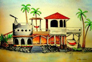 L_Hacienda Beach House_watercolors_6-20-2012
