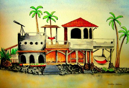 L_Hacienda Beach House_watercolors_6-20-2012