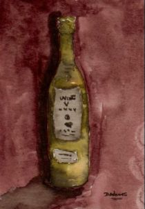 P_Wine Bottle_watercolors_9-25-2012