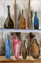 P_Bottles_window_watercolors_da_10-1-2012
