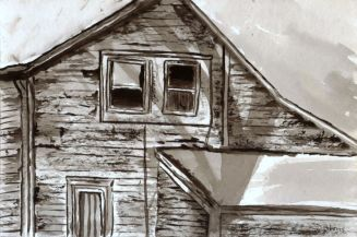 L_Old Childhood House_watercolors_da_9-12-2012