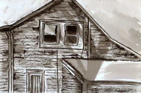 L_Old Childhood House_watercolors_da_9-12-2012
