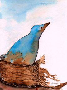 P_Eyeing the Eagle_watercolors_da_9-14-2012