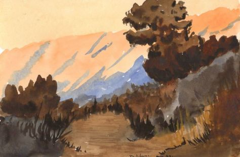 L_Mountain Range_watercolor_da_9-19-2012