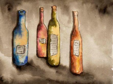 L_Wine Bottles