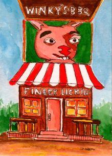P_Winky's BBQ_watercolors_dj_9-1-2012