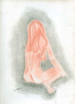 P_Woman's Backside II