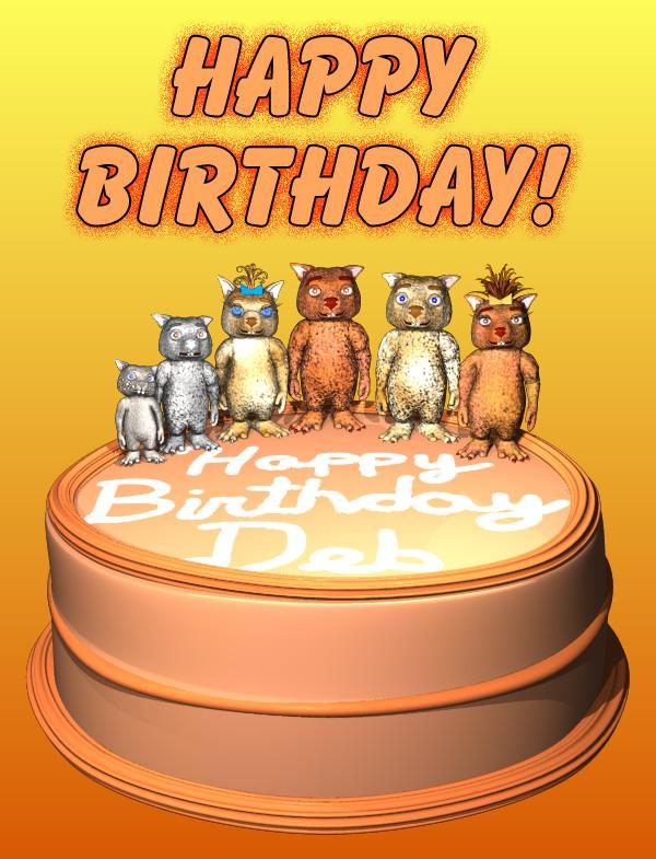 Happy Birthday Deb 2014