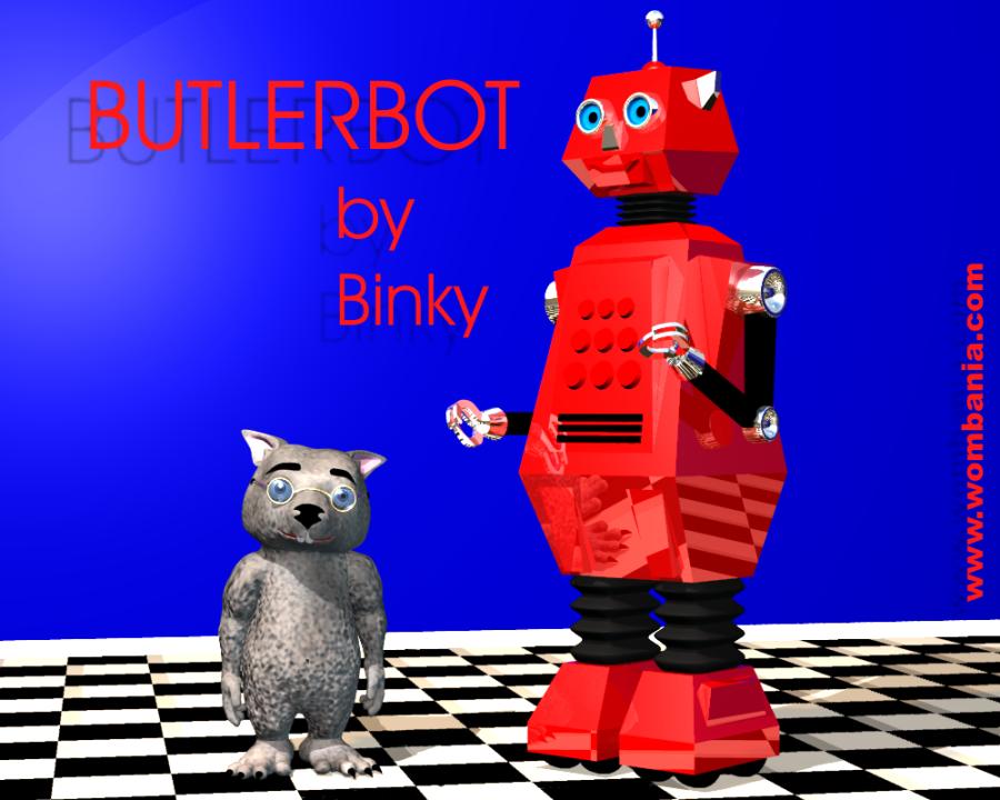 Robot Butler & Binky C3