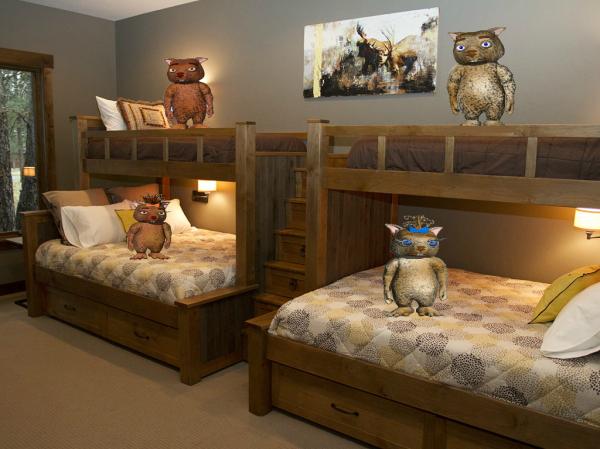 Wombie Kids Bedroom