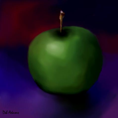 apple-digital painting-2013-04-20-da