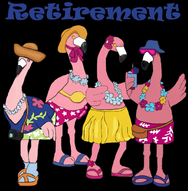 Flamingos-retired