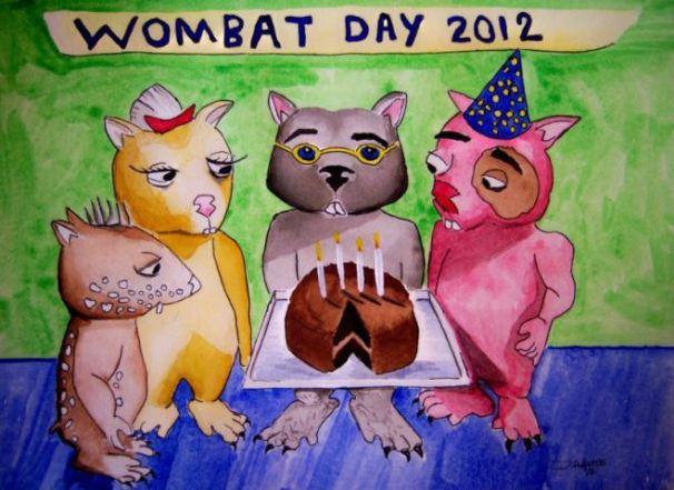 wombie_wombat-day-2012_watercolors_deb-adams_10-08-20121