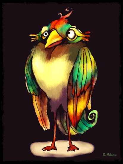 bird-grumpy-2013-05-31-framed