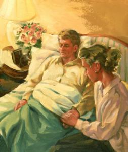 sick husband