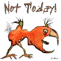 bird-tiny-sq-not today-white-signed