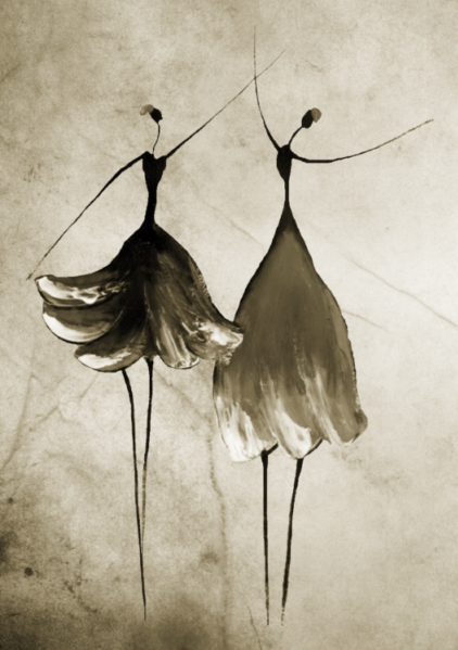 dancers-2013-08-gray - adamsart.wordpress.com