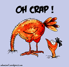 Oshtrich-Oh Crap-adamsart.wordpress.com