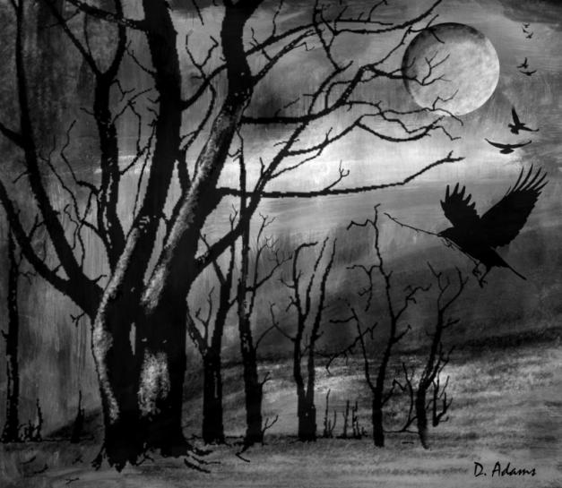 Birds-Crows-Halloween-2013-10-31-adamsart.wordpress.com - Copy