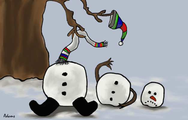 snowman-broken-adamsart.wordpress.com