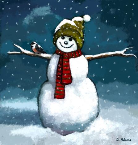 snowman-winter-scene-adamsart.wordpress.com