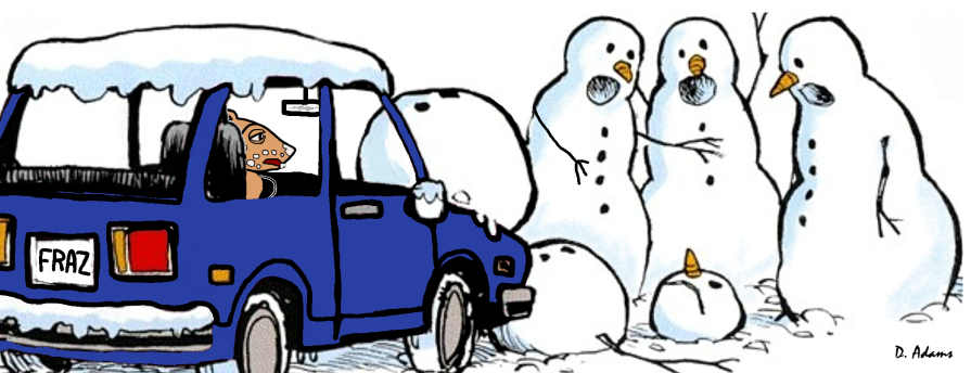 wombie-fraz-jeep-snowmen-ouch