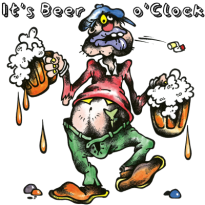 beer-drinker-it's-beer-o'clock-blog