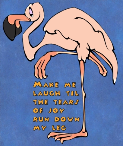 Flamingo-laugh