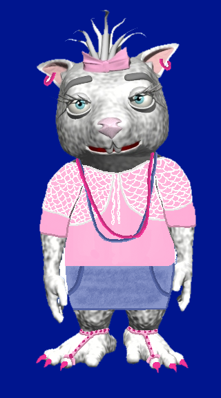 pinky-hippie-clothes-blue background