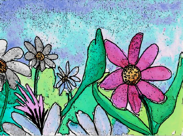 Watercolor Doodle