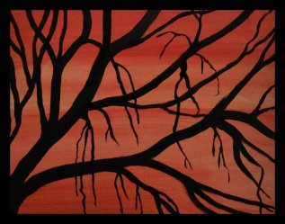 acrylic-tree-silhouette-framed