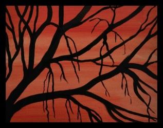 acrylic-tree-silhouette-framed
