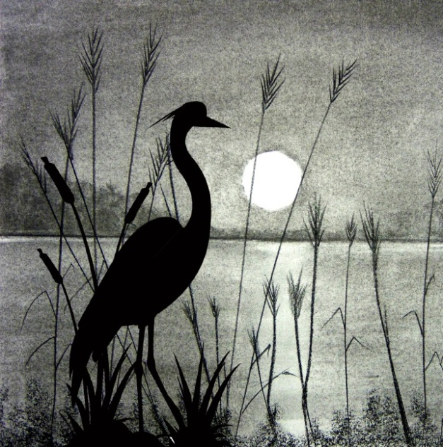 sunset scence-charcoal-flamingo-overlay-reversed-650